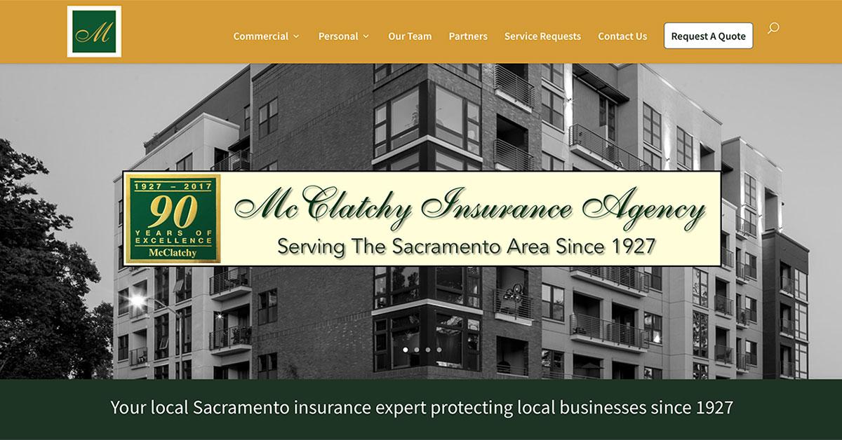McClatchy Insurance Agency Serving Sacramento Since 1927