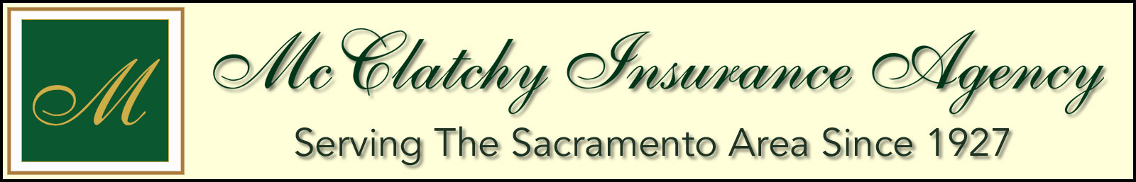 McClatchy Insurance Agency Sacramento